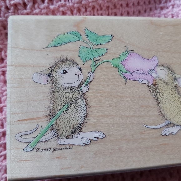 ♡HOUSE MOUSE STAMP♡EVERYTHING IS COMING UP ROSES ♡